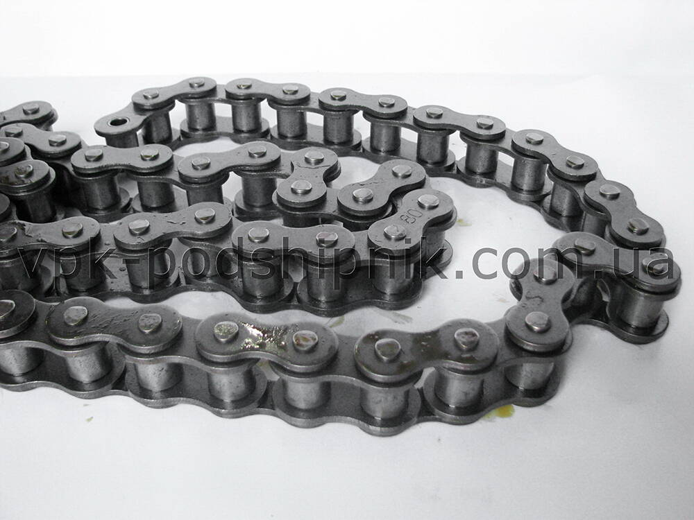 Фото3 Duplex roller chain ISO 16A-2